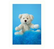 Baby Boy Bear Art Print