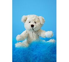 Baby Boy Bear Photographic Print