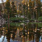 Basin Mountain Reflection by Nolan Nitschke