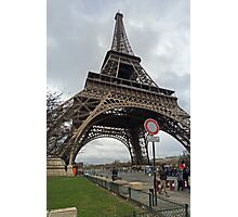 Eiffel Tower too Photographic Print