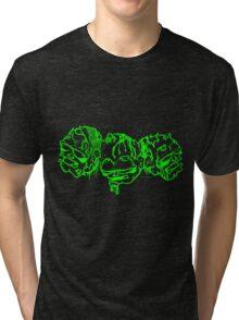 Toxic Zombies (on dark) Tri-blend T-Shirt