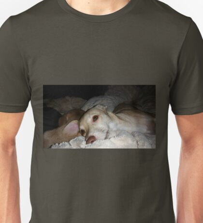 My Pretty Puppy and Dean Unisex T-Shirt