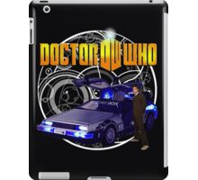 Back to the Who iPad Case/Skin