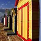 Colorfull Huts by Elena Martinello