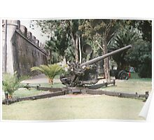 German 88mm Anti-Aircraft Gun Poster