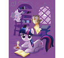 Twilight Sparkle - Bookworm Pony Photographic Print