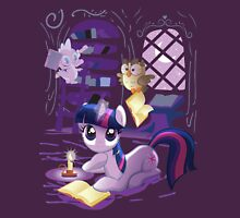Twilight Sparkle - Bookworm Pony Womens Fitted T-Shirt