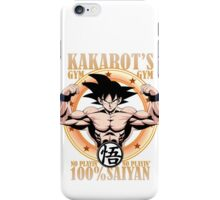 Kakarot's Gym iPhone Case/Skin