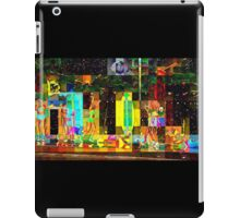 2015 HALFTIME entertainment, SUPERBOWL art, BEACH, multicolored  iPad Case/Skin