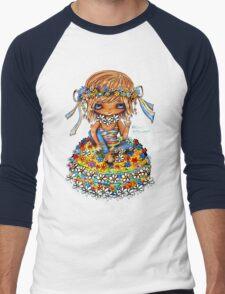 Flower Power TShirt Men's Baseball ¾ T-Shirt