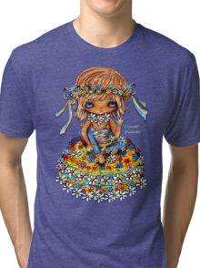 Flower Power TShirt Tri-blend T-Shirt