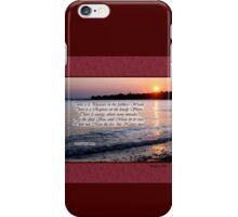 A Fragment from Lord Byron iPhone Case/Skin