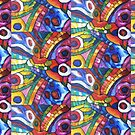 Super Nova Abstract by Dianne Connolly