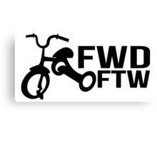 FWD FTW -B Canvas Print