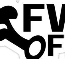 FWD FTW -B Sticker