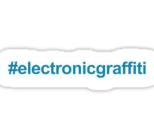 #electronicgraffiti  Sticker