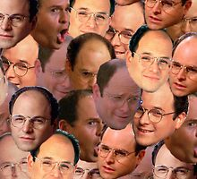 George Costanza Collage by DavidFakner