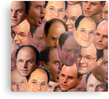 George Costanza Collage Metal Print
