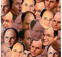 George Costanza Collage Photographic Print