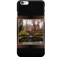 Winterthur Estate with Reflecting Pool iPhone Case/Skin