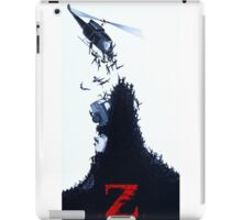 world war Z iPad Case/Skin