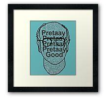 Larry David: Pretty, Pretty, Pretty, Good. Framed Print