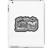 Design 009s1 - by Kit Clock iPad Case/Skin