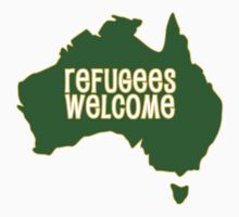 Refugees Welcome (v2.0) by theblastedtower