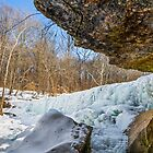 Frozen Anderson Falls by Kenneth Keifer