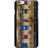 nhl original 6 painting iPhone Case/Skin