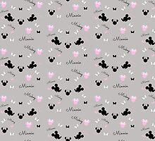 Mickey and Minnie by KeriiLynne