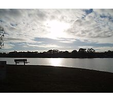 An evening at Mannum. Photographic Print