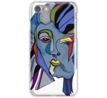 Woman now man iPhone Case/Skin