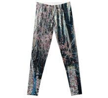 Burnt trees in the Australian Bush Leggings