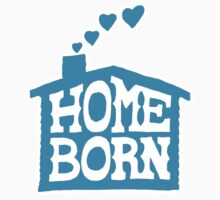 Home Born - Blue Baby Tee
