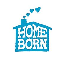 Home Born - Blue Photographic Print