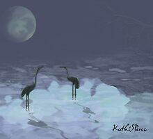 Cranes by KathiSPerez