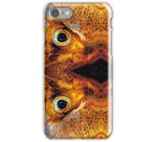 Angry Fish Face #03 iPhone Case/Skin