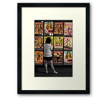 My Colourful Life Framed Print