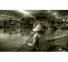 Approaching Hoi An Photographic Print
