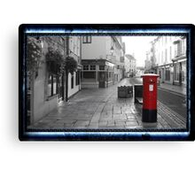 Time Travel Postbox Canvas Print