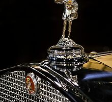 1930 Cadillac Hood Ornament by dlhedberg