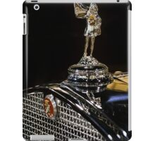 1930 Cadillac Hood Ornament iPad Case/Skin