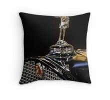 1930 Cadillac Hood Ornament Throw Pillow