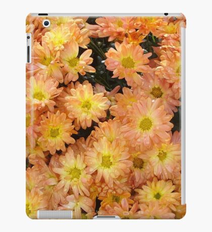 Orange Flowers in the Fall... iPad Case/Skin