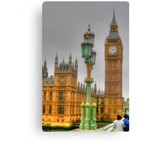 The Tower Of Big Ben Canvas Print