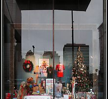 """A Christmas Story"" Window by MClementReilly"