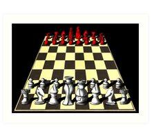 Chess Art Print