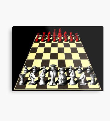 Chess Metal Print