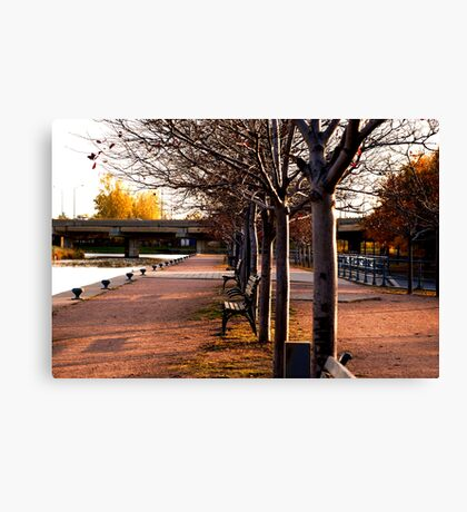 Urban Dusk Canvas Print